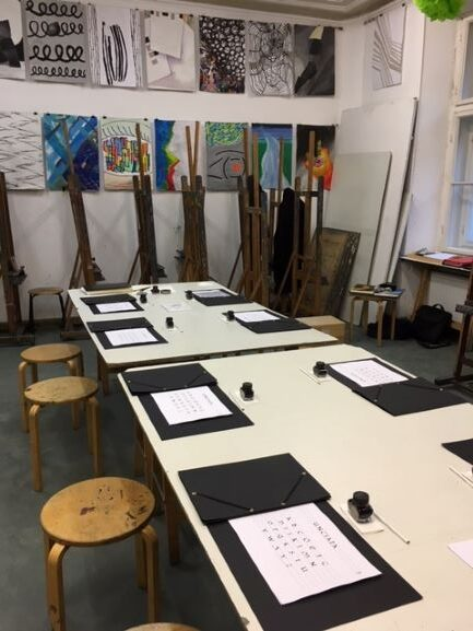 autorski kurs kaligrafii