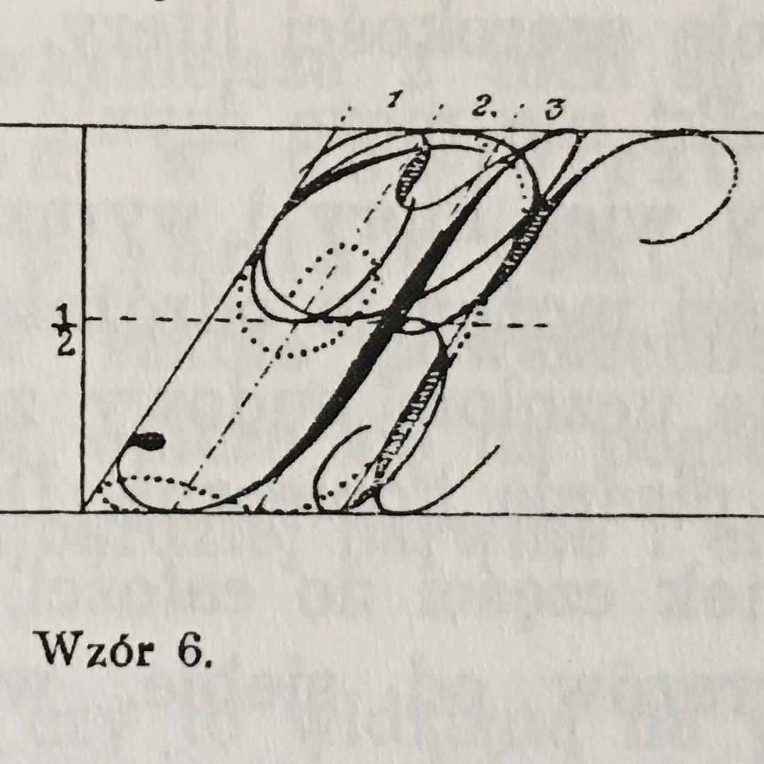 R duze kaligrafia