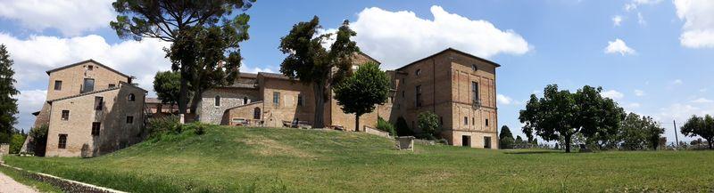 Perugia widok na Klasztor