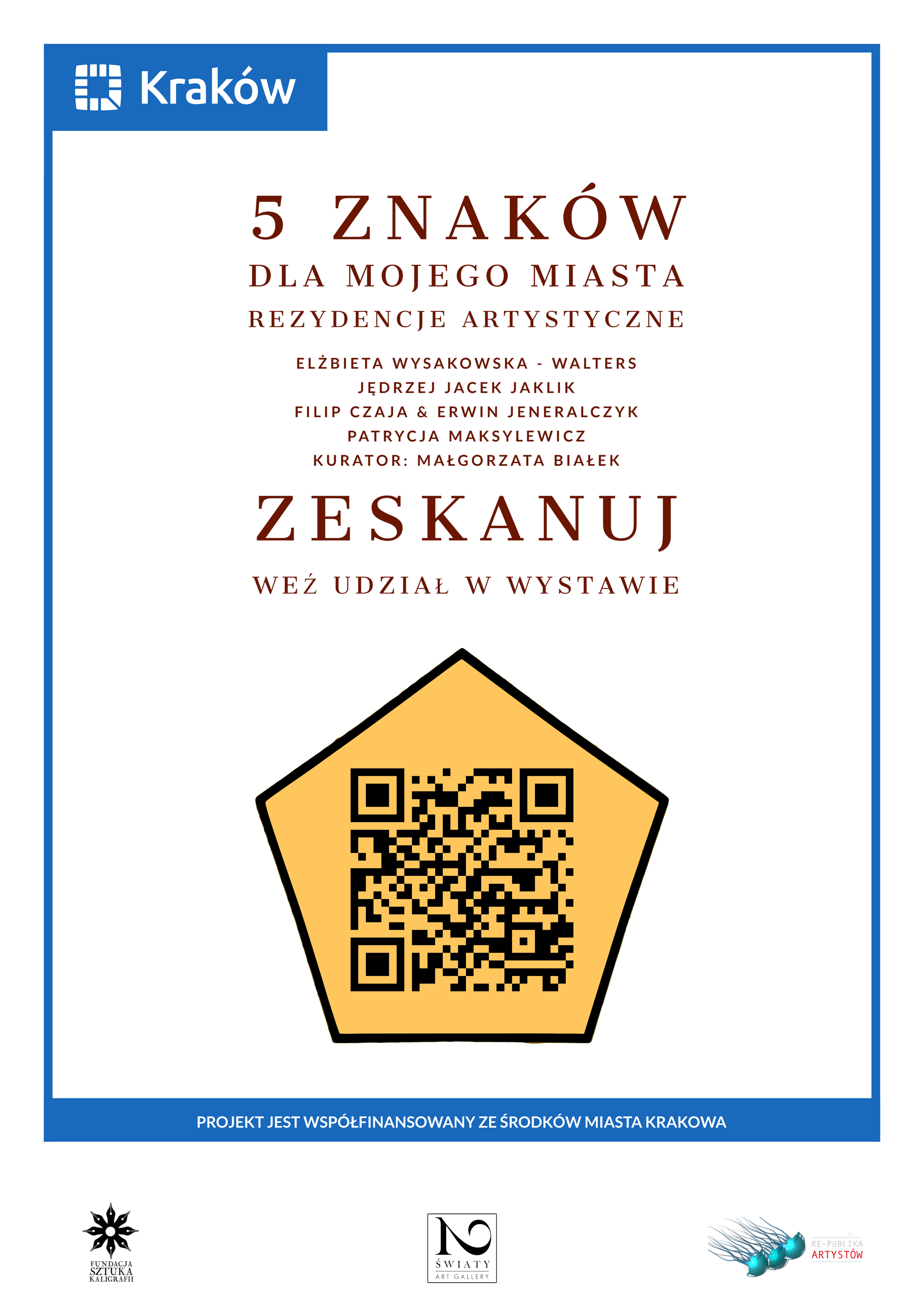Rezydencja Artystyczna plakat